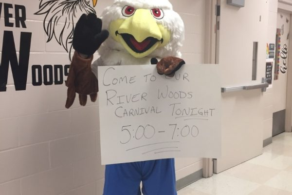 The River Woods Eagle Has Landed!